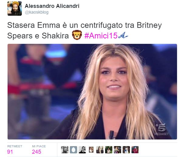 Emma Marrone Britney spears (1)
