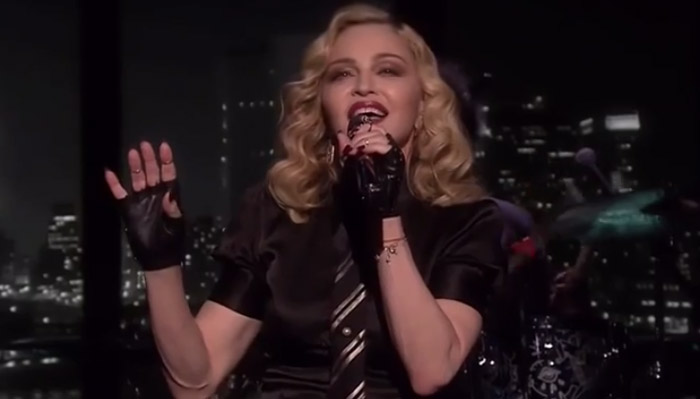 Madonna-borderline-video
