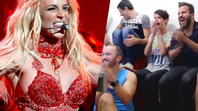 britney spears reaction fan