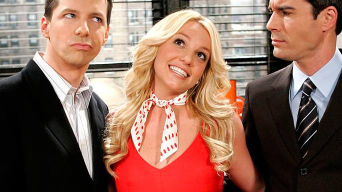 britney spears will and grace