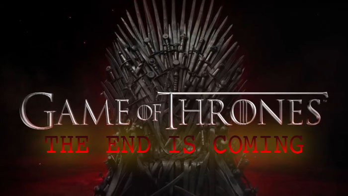 game of thrones end coming