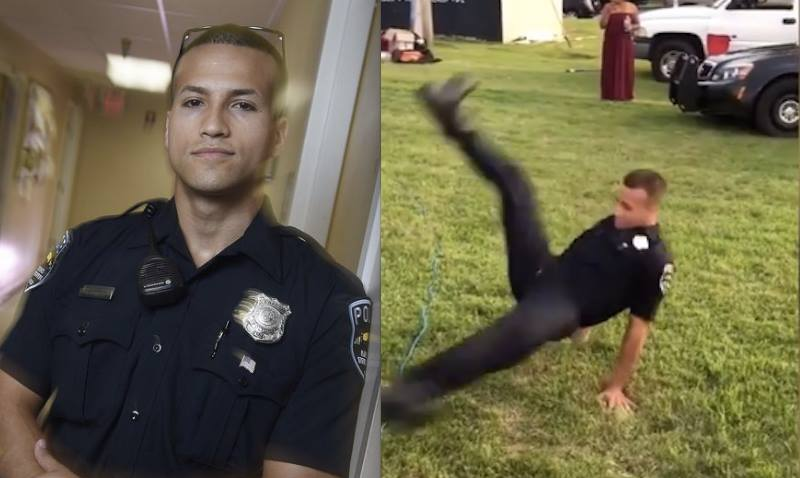 police-man-break-dance-video