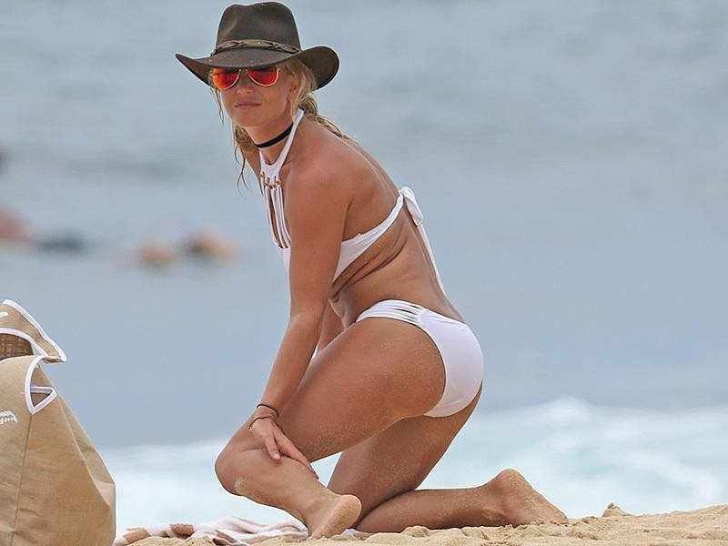 Britney Spears bikini alle Hawaii (1)