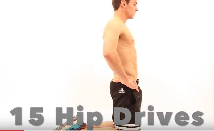 Tom Daley Routine Workout Butt YouTube (2)
