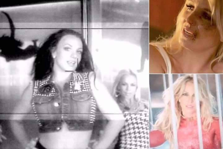 britney spears video mistery
