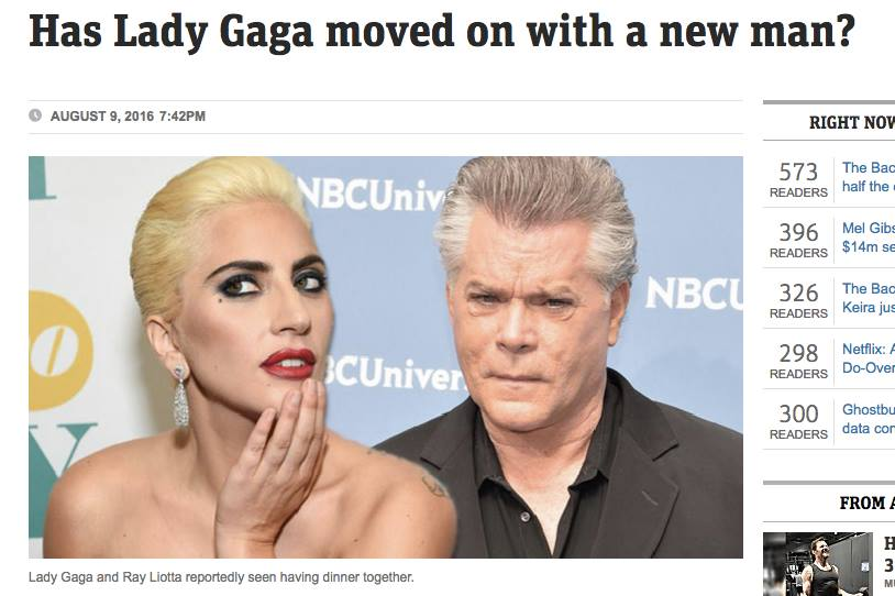 lady gaga ray liotta 2