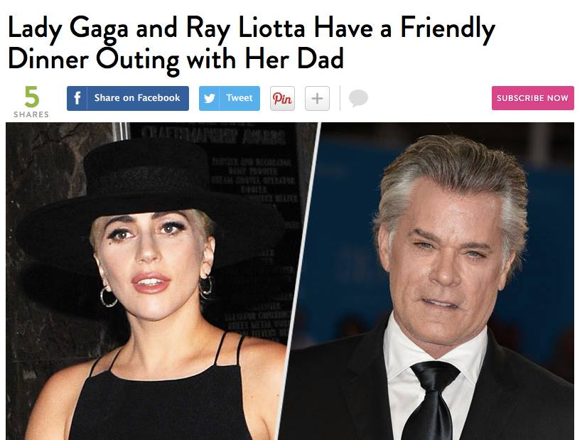 lady gaga ray liotta 5