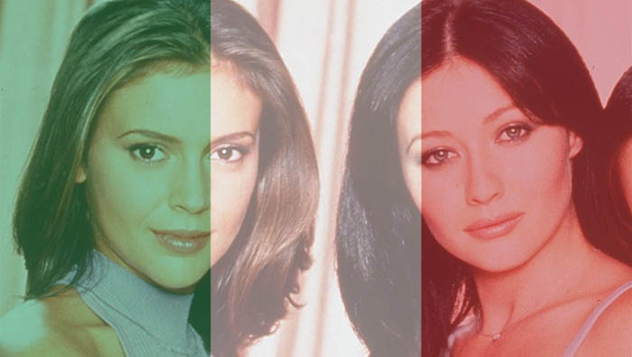 Alyssa Milano Shannen Doherty And Holly Marie Combs Star In Charmed