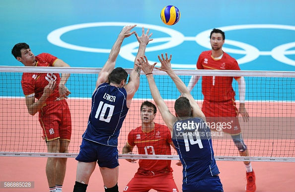 volley italy france