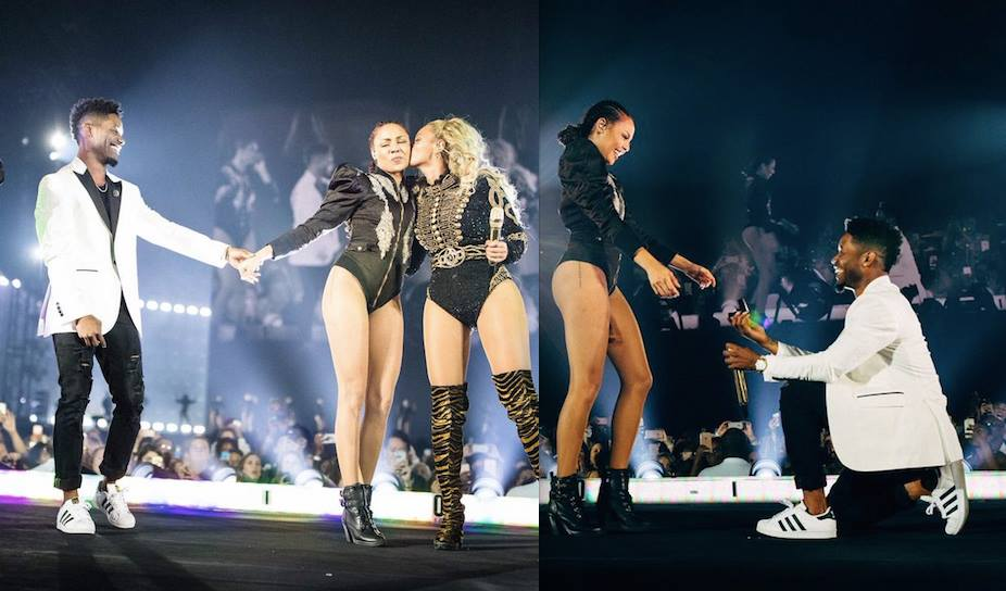 beyonce-dancer-proposed-wedding-concert