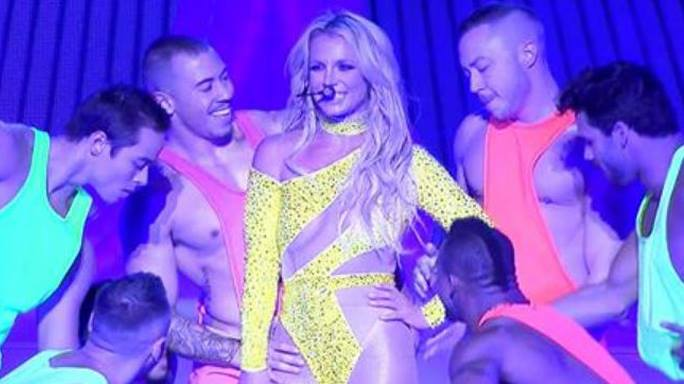 britney today show performance video download