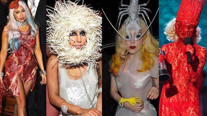 lady gaga look