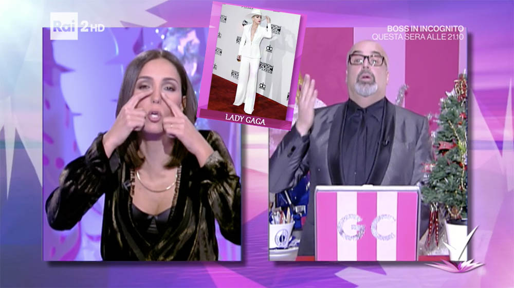 detto-fatto-caterina-balivo-gianni-lady-gaga-video