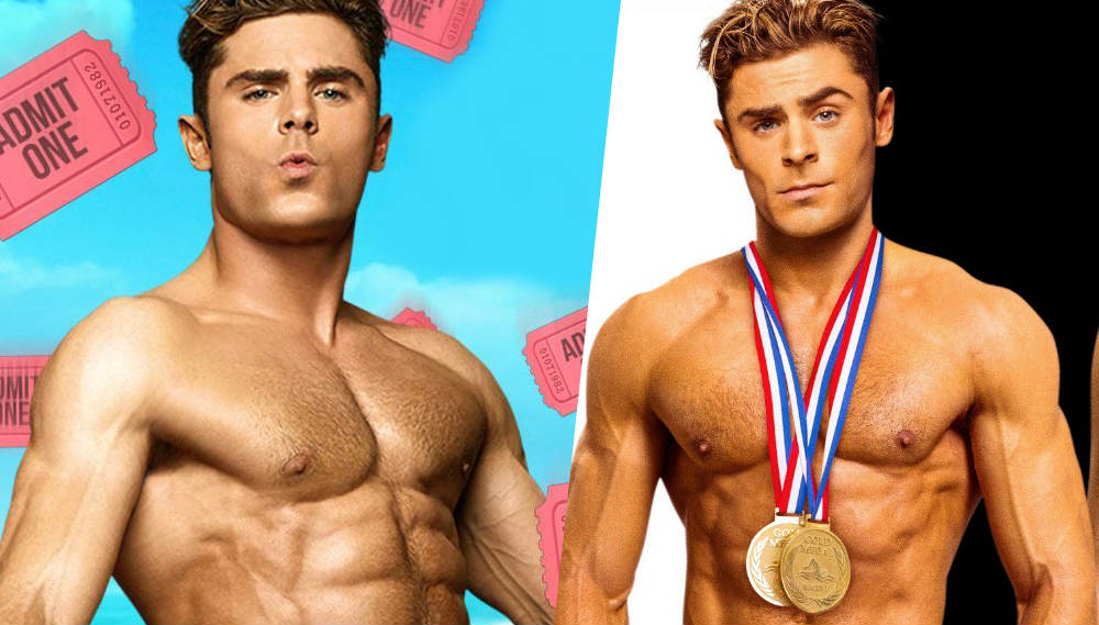 zac efron beywatch poster video