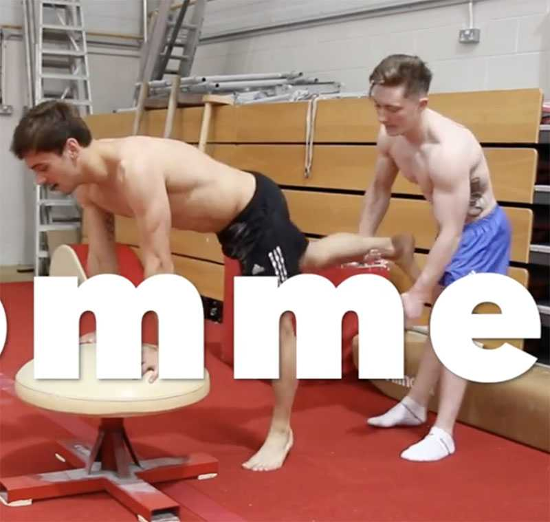 tom daley position video lol gay