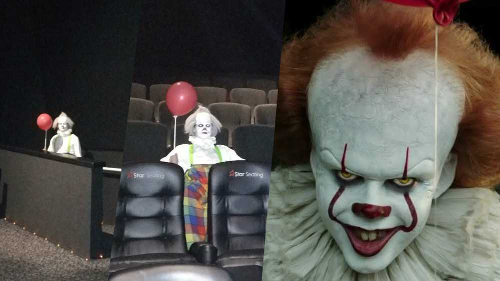 it pennywise clowns cinema video
