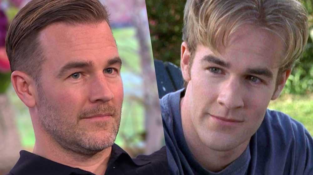 james van der beek dawson gay
