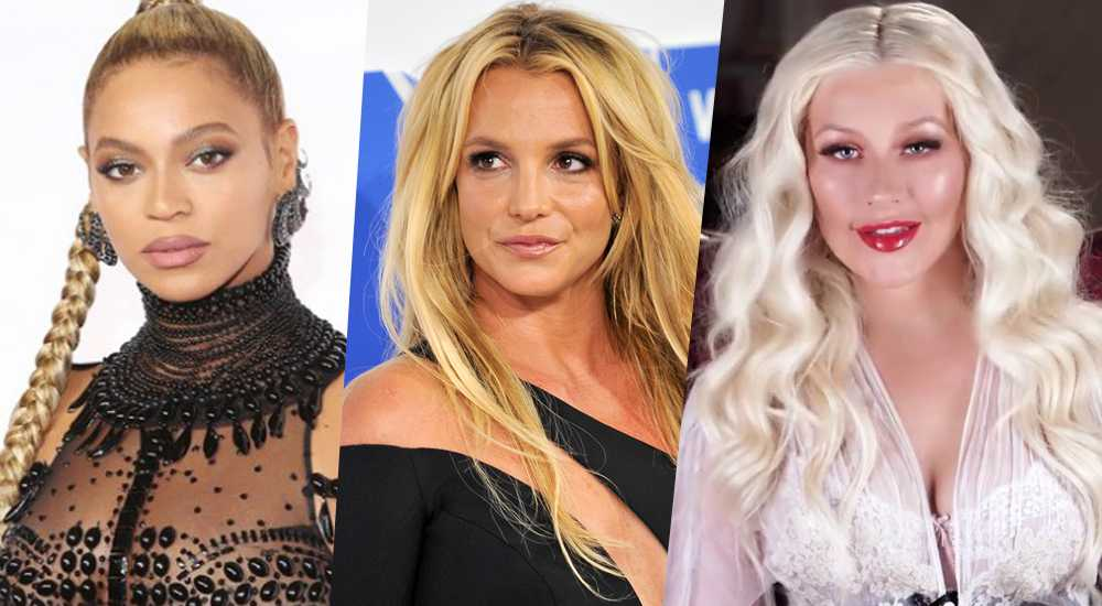 beyonce britney spears christina aguilera