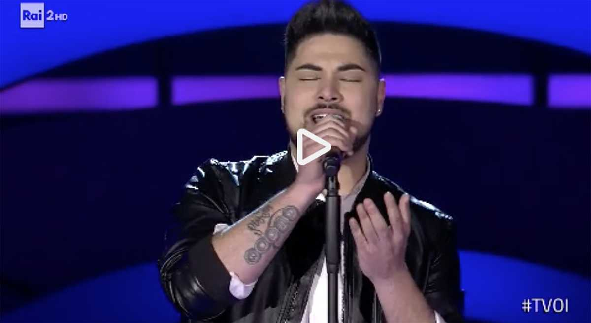 ruben mendes the voice of italy video