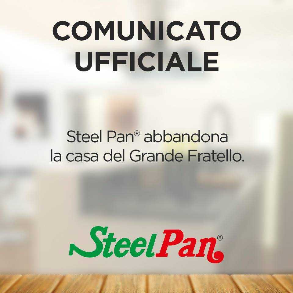Steel Pan Sponsor Grande Fratello